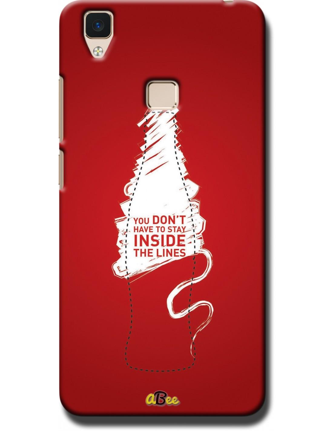 timeless design fcec3 732b8 Stay Outside - VIVO V3 Designer Mobile Case