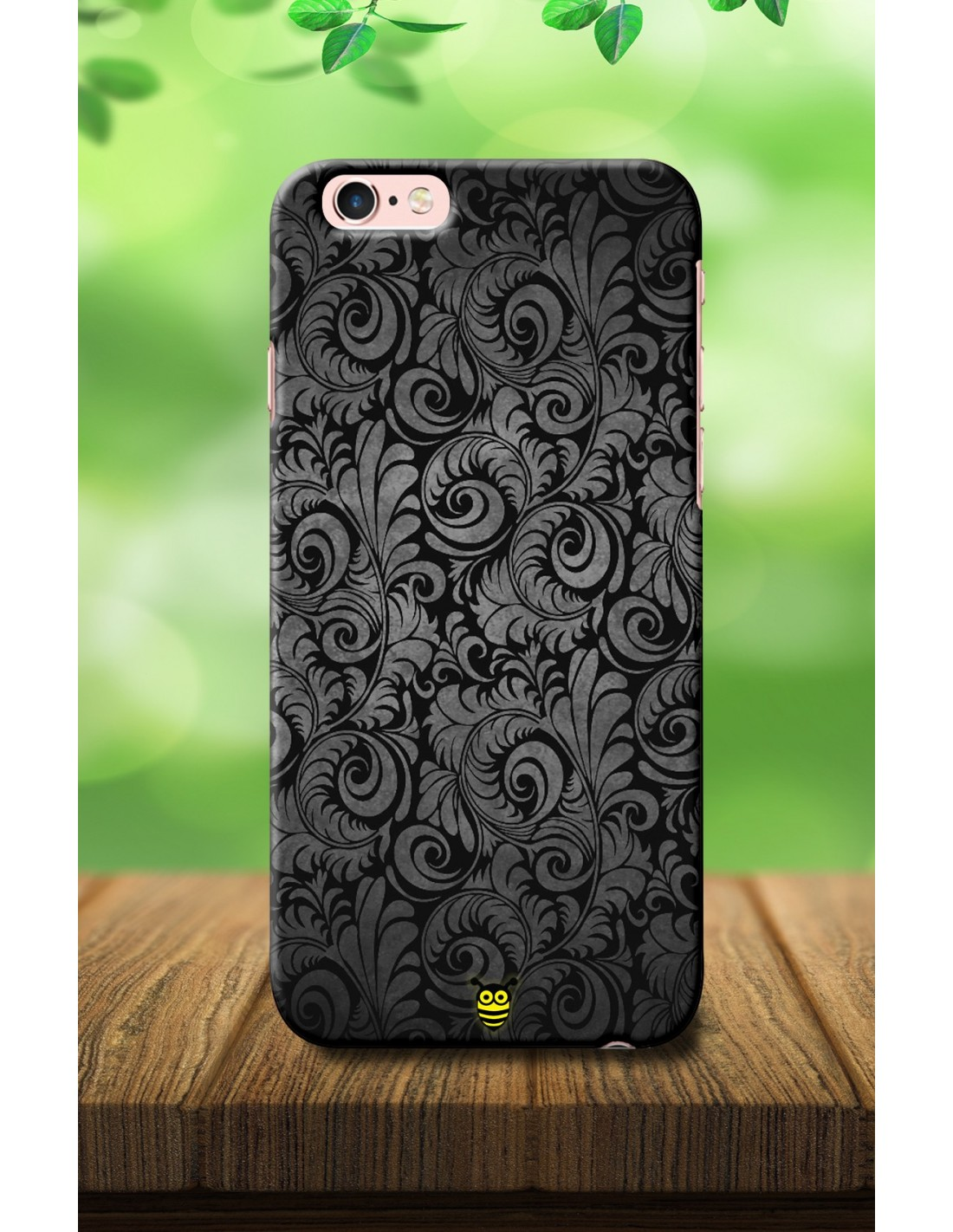 another chance 2c4f2 082b9 Luxury Black - Iphone 6s Designer Mobile Case